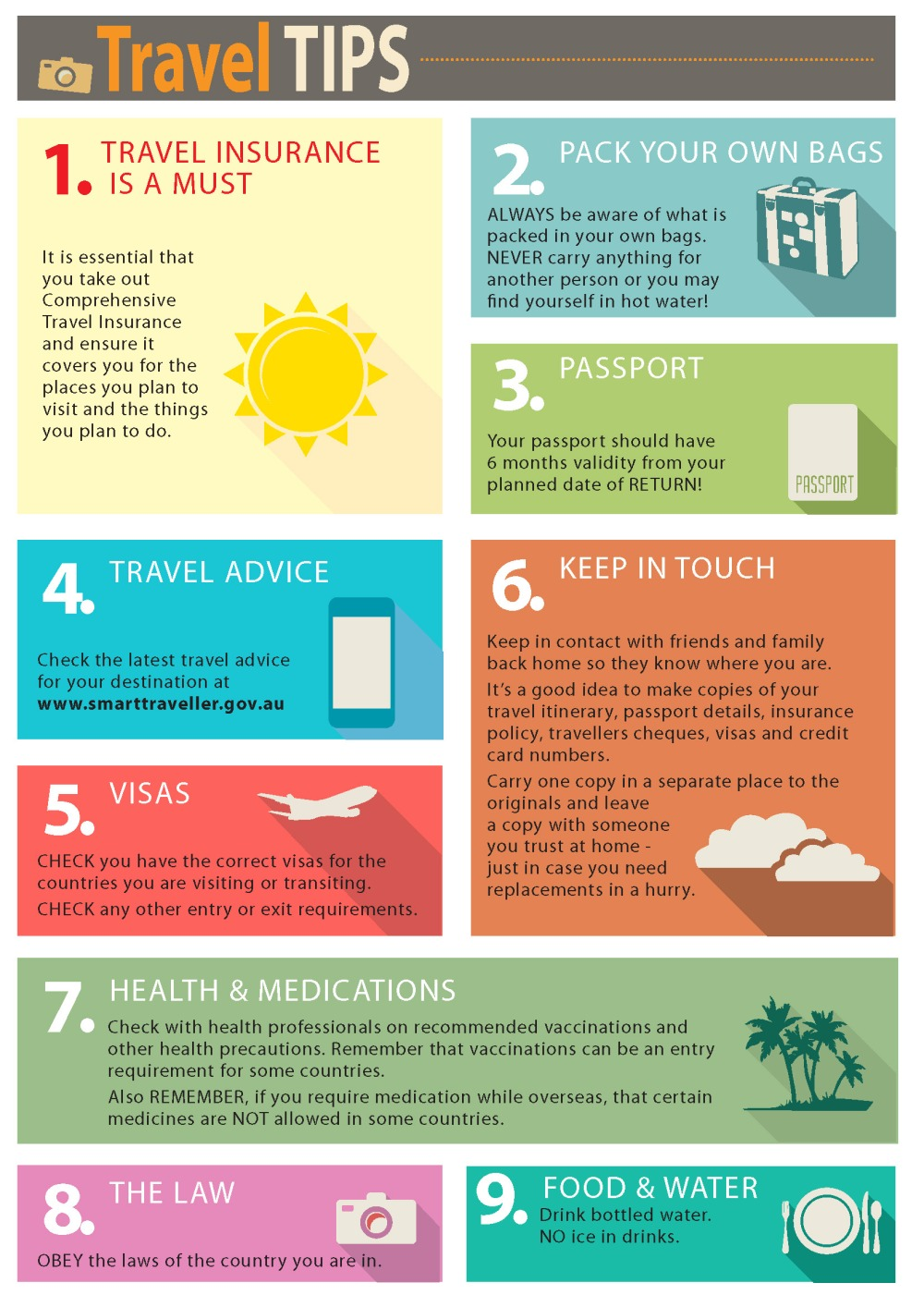 10 Quick Travel Tips